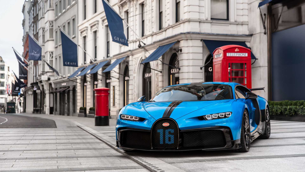Bugatti Chiron was the world's fastest production car for more than a year