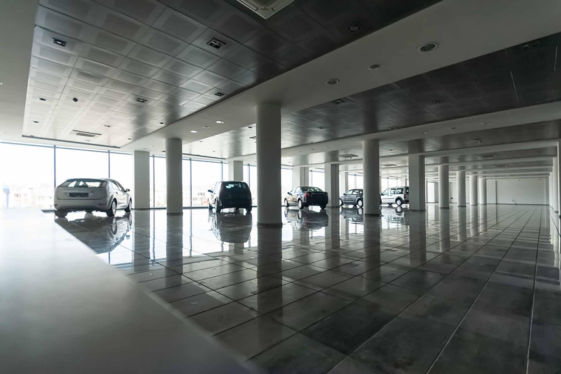 what-slowest-month-car-sales empty dealership