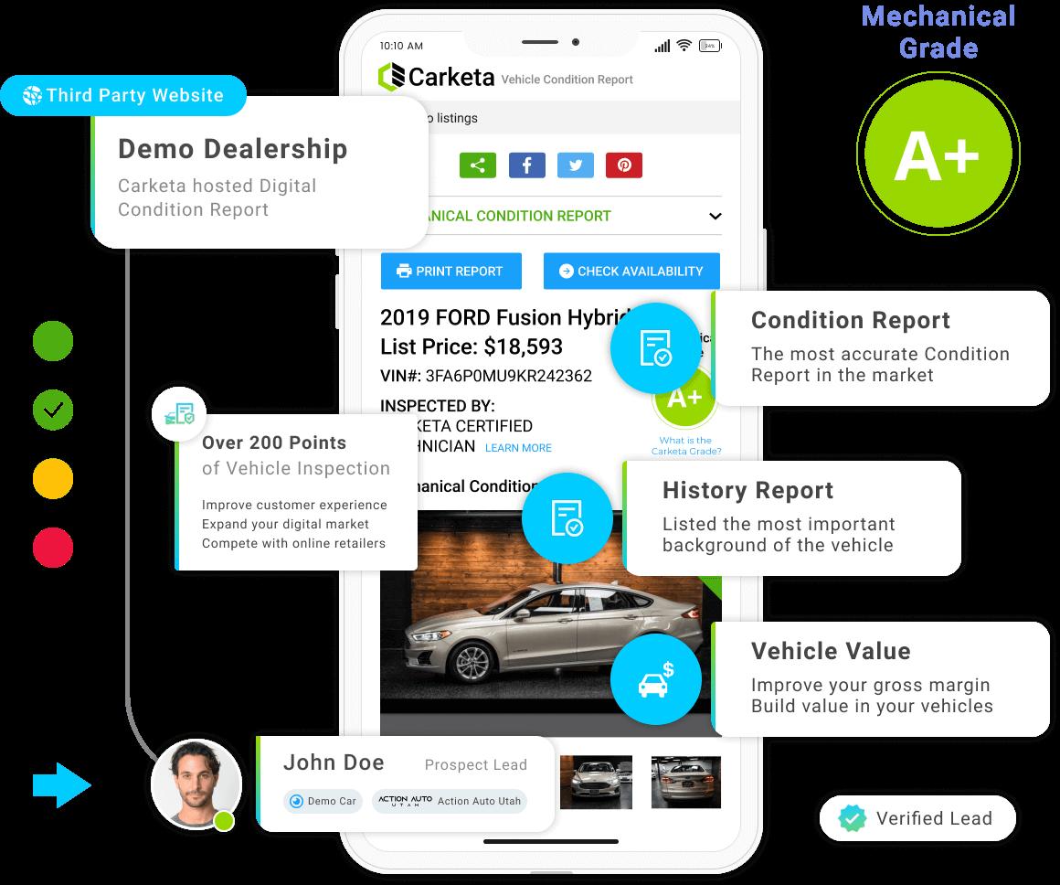 vehicle-report digital condition report carketa