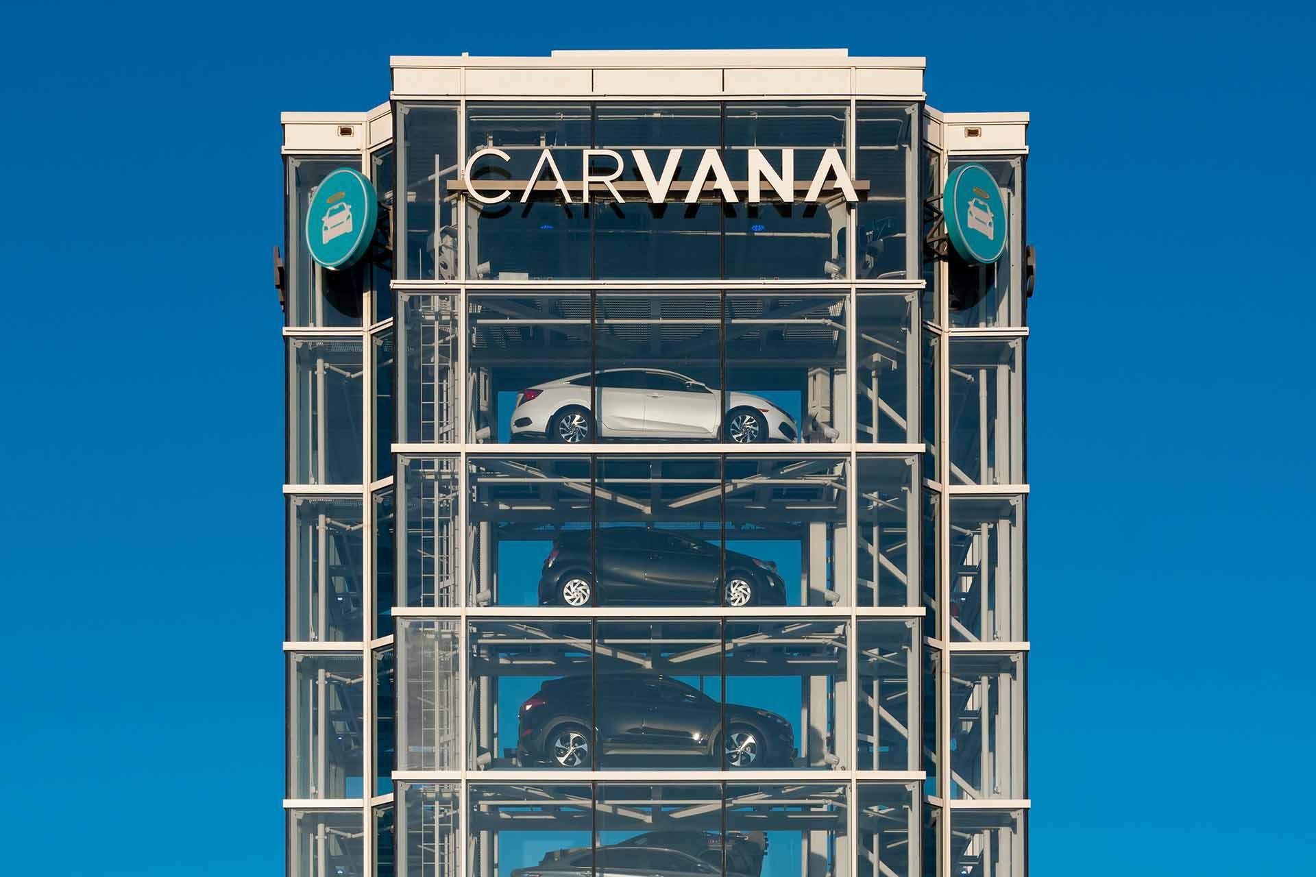 carvana-car-vending-machine tempe AZ location