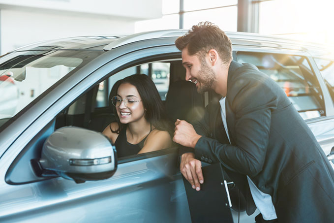 car-sales-people first time customer