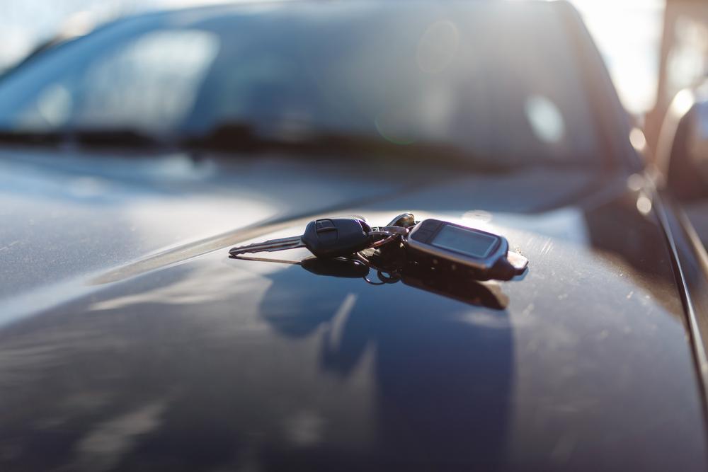 used-car-valuation keys on car